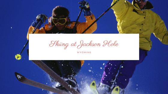 Skiing at Jackson Hole, Wyoming