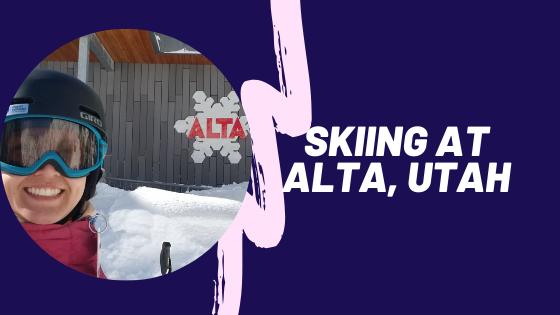 Skiing at Alta, Utah