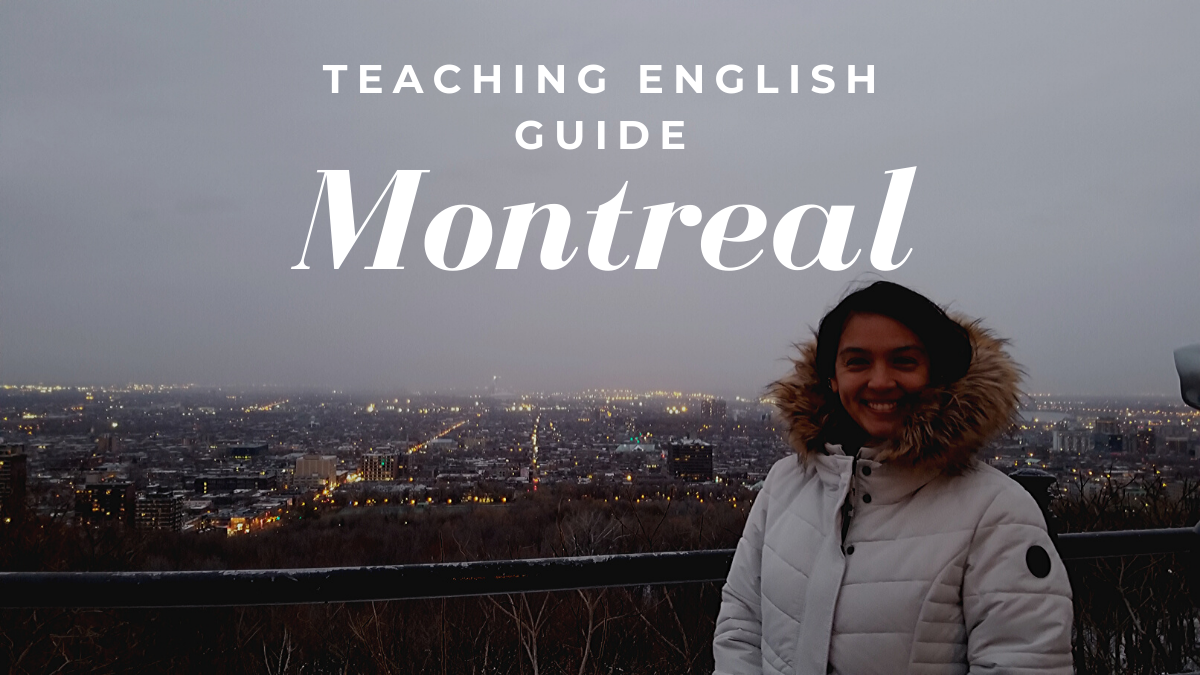 Teaching English in Montreal, Canada