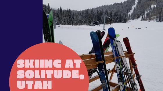 Skiing at Solitude, Utah