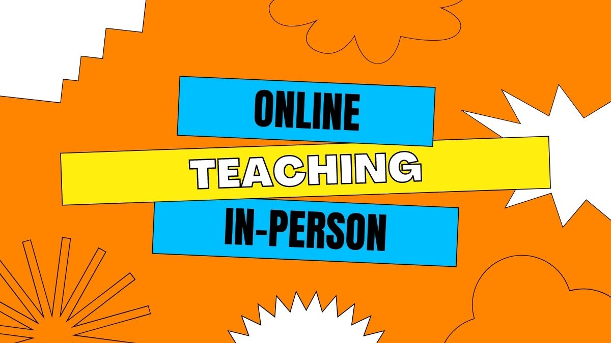 Languages: Online vs In Person Teaching