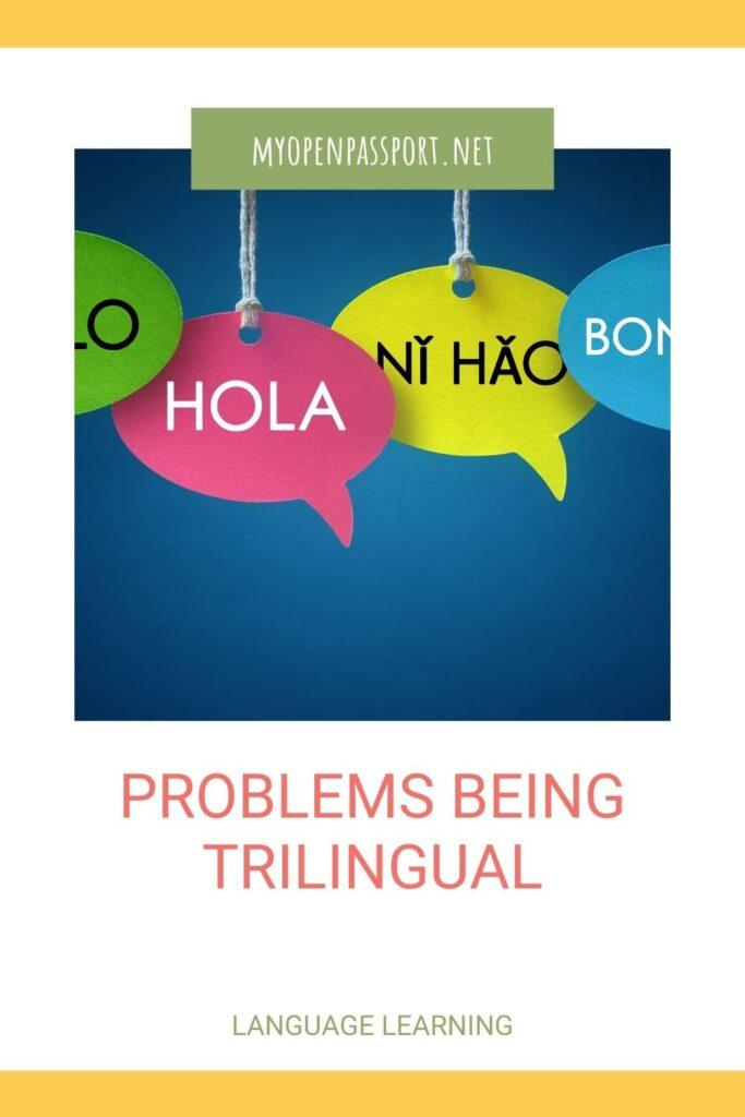 problems being trilingual